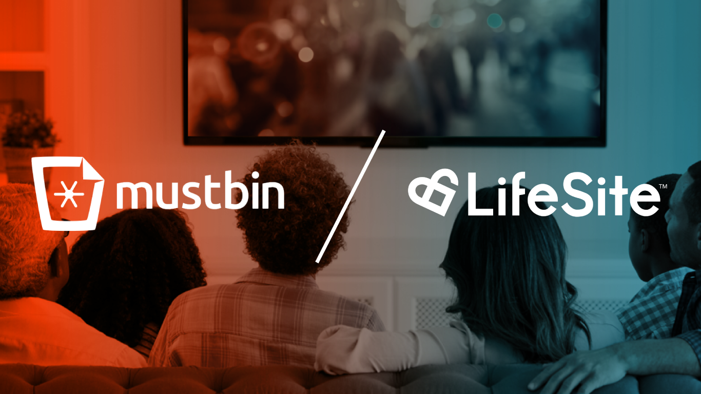 Mustbin Joins Forces with LifeSite for a Secure Future